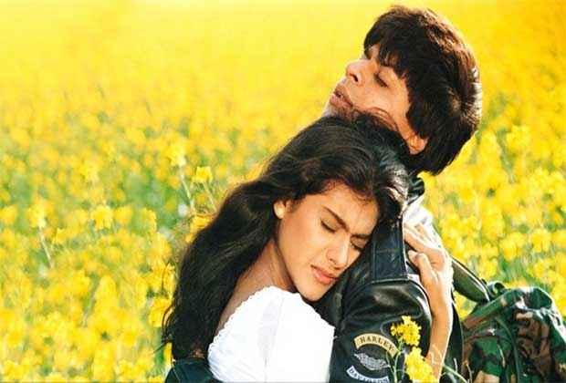 Dilwale Dulhaniya Le Jayenge Shah Rukh Khan Kajol Romantic Pics Stills