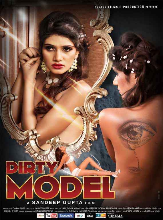 Dirty Model Shiju Kataria Poster