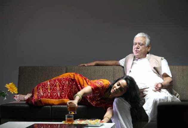 Dirty Politics Mallika Sherawat Om Puri Drinking Together Stills