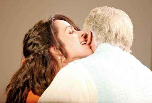 Dirty Politics Mallika Sherawat Om Puri Kiss Scene Stills