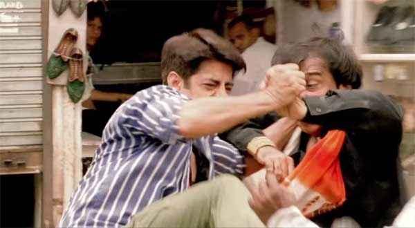 Dirty Politics Rajpal Yadav Sushant Singh Fighting Stills