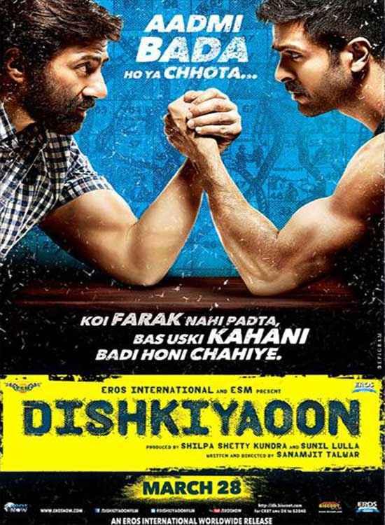 Dishkiyaoon First Look Poster