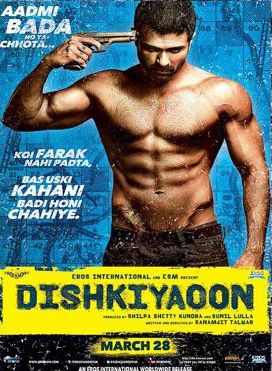 Dishkiyaoon Harman Baweja Poster