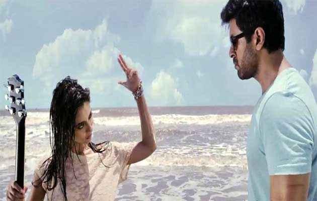 Dishkiyaoon Harman Baweja Ayesha Khanna Romantic Scene at Beach Stills