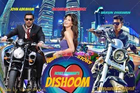 Dishoom First Look Poster