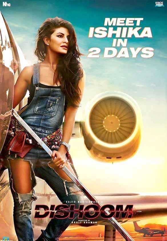 Dishoom Jacqueline Fernandez Wallpaper Poster