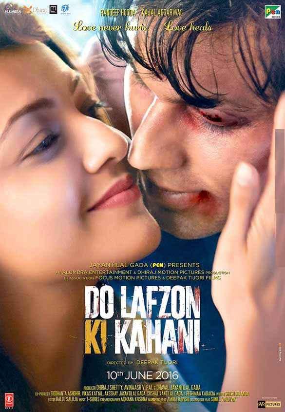 Do Lafzon Ki Kahani Randeep Hooda Kajal Aggarwal Poster