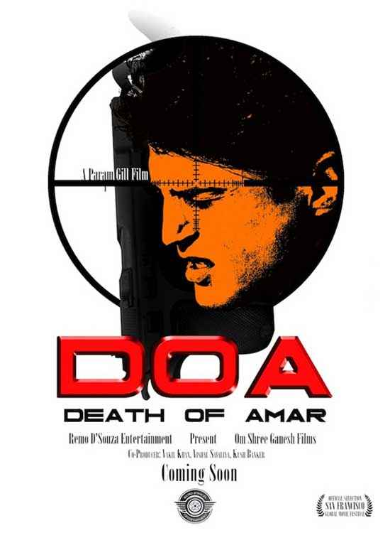 DOA Death of Amar Poster