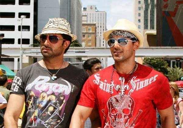 Dostana 2 Abhishek Bachchan John Abraham Stills