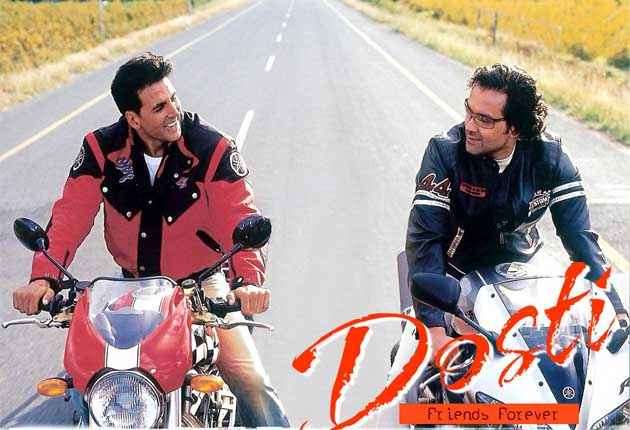 Dosti - Friends Forever Akshay Kumar Bobby Deol Wallpaper Stills