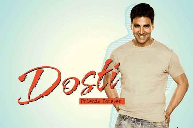 Dosti - Friends Forever Akshay Kumar Wallpaper Stills
