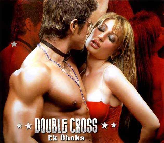 Double Cross Ek Dhoka Nigaar Khan Hot Wallpaper Poster