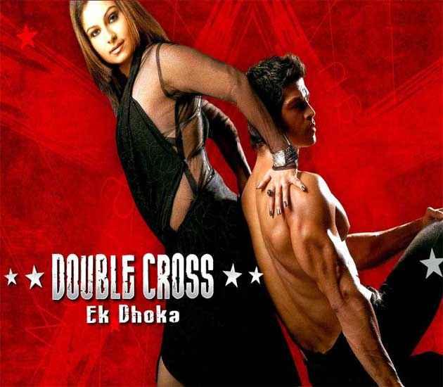Double Cross Ek Dhoka Saahil Khan Ayesha Jhulka Sexy Poster