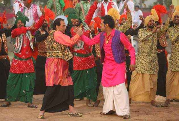 Double Di Trouble Dharmendra Gippy Grewal Stills