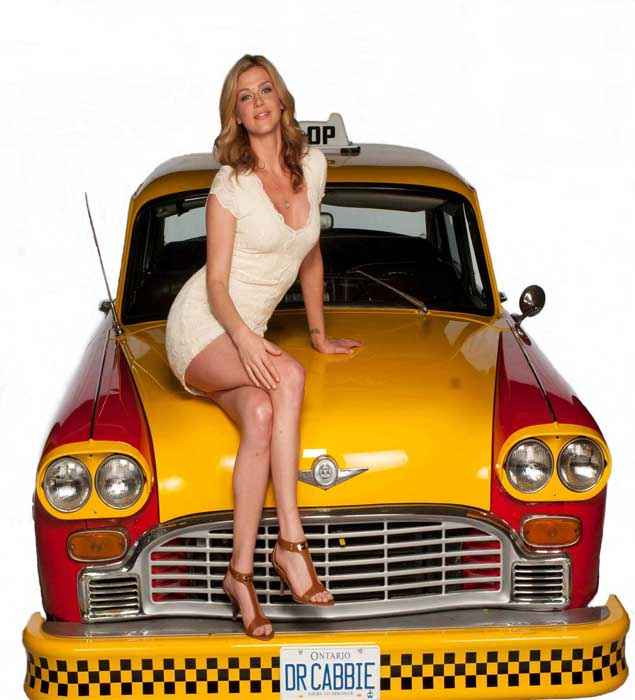 Dr Cabbie Adrianne Palicki Hot Poster