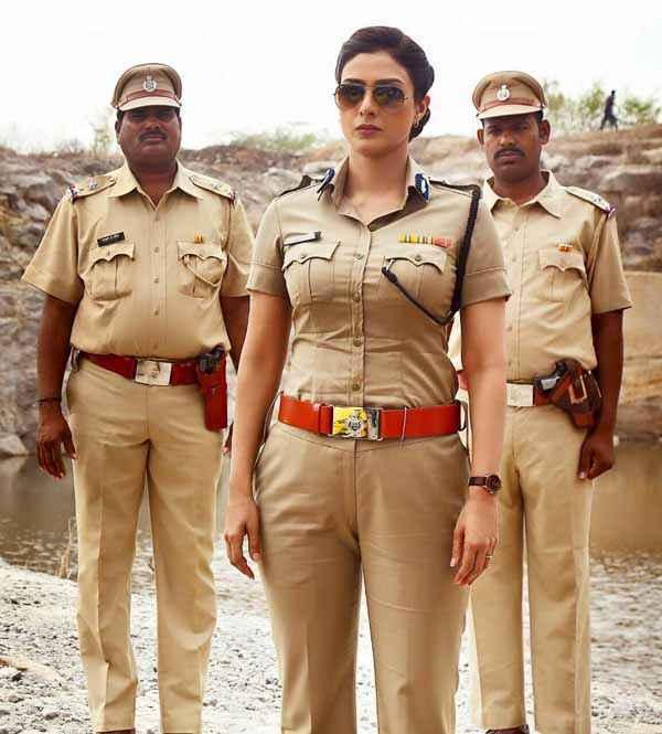 Drishyam Visuals Can Be Deceptive Tabu As Police Inspector Stills