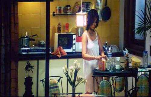 Ek Chotisi Love Story Manisha Koirala White Short Dress Stills