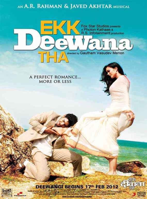 Ekk Deewana Tha Prateik Amy Jackson First Look Poster