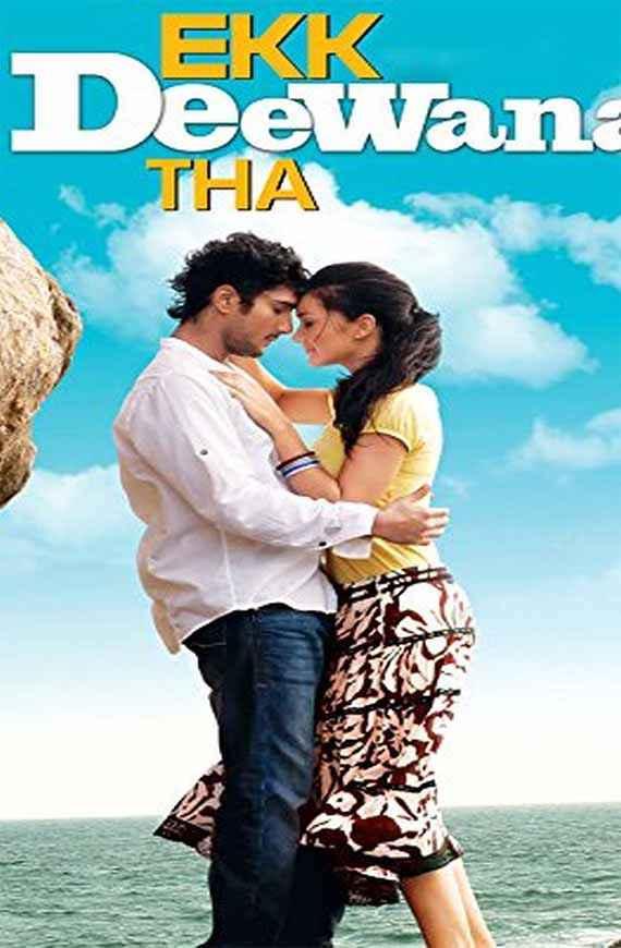 Ekk Deewana Tha Prateik Amy Jackson HD Wallpaper Poster