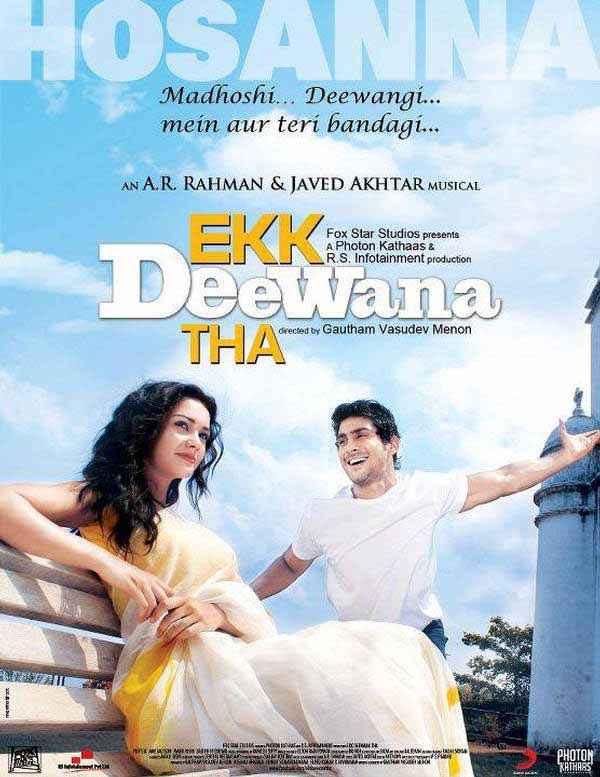 Ekk Deewana Tha Wallpaper Poster