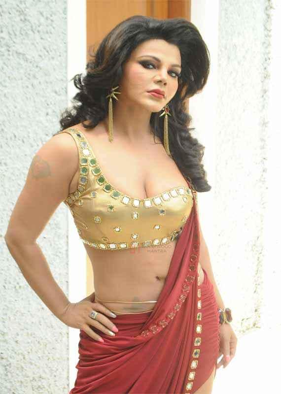 Ek Kahani Julie Ki Rakhi Sawant Boobs Cleavage Stills