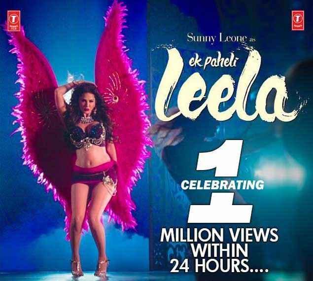 Ek Paheli Leela Sunny Leone New Look Poster