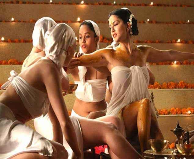 Ek Paheli Leela Sunny Leone Hot Haldi Ceremony Stills