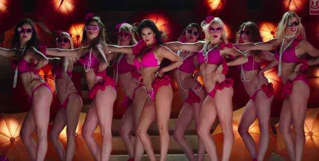 Ek Paheli Leela Sunny Leone In hot Pink Bikini Stills
