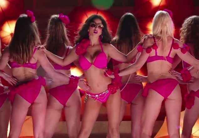 Ek Paheli Leela Sunny Leone In Pink Bikini Stills