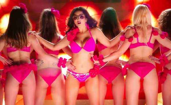 Ek Paheli Leela Sunny Leone In Red Bikini Stills