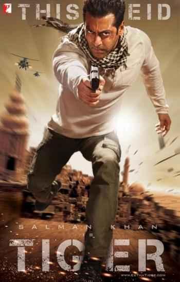 Ek Tha Tiger Salman Khan Poster