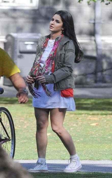 Ek Tha Tiger Katrina At Shooting Location Stills