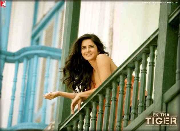 Ek Tha Tiger Katrina Kaif Sexy Photo Stills