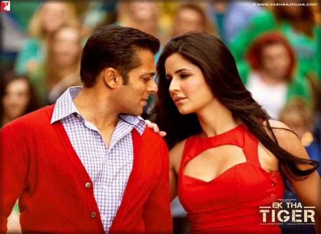 Ek Tha Tiger Salman Katrina In Banjaara Song Stills