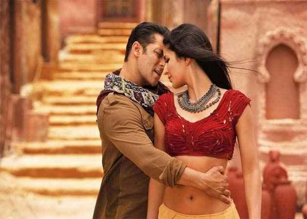 Ek Tha Tiger Salman Katrina In Mashallah Song Stills