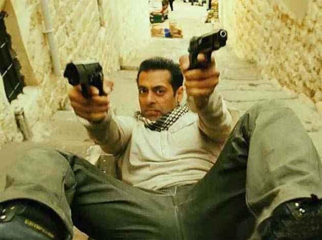 Ek Tha Tiger Salman Khan Action Stills