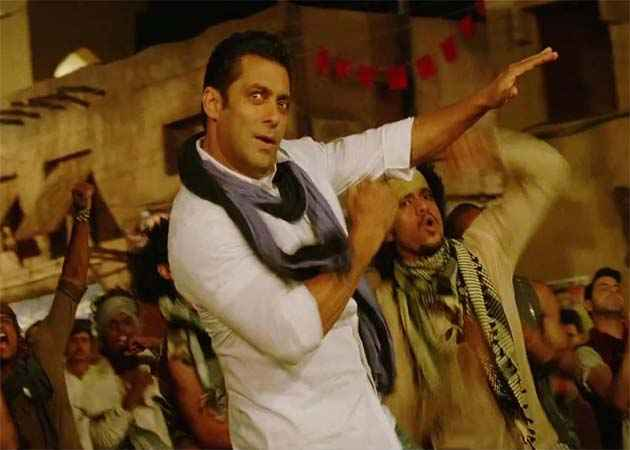 Ek Tha Tiger Salman Khan In Mashallah Song Stills