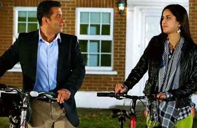 Ek Tha Tiger Salman Khan Katrina Kaif Romance Stills