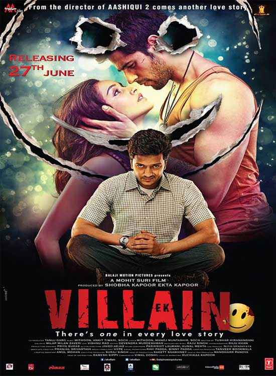 Ek Villain First Look Poster