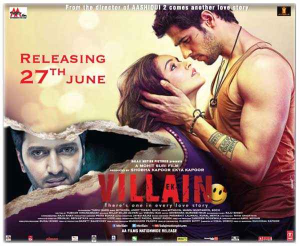 Ek Villain Image Poster