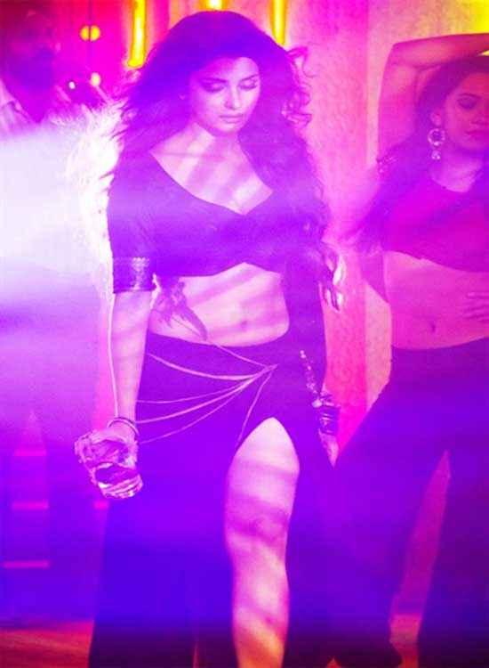 Ek Villain Prachi Desai Sexy Black Dress Stills
