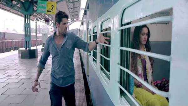 Ek Villain Sidharth Malhotra Shraddha Kapoor In Train Stills