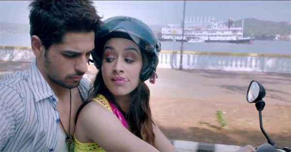 Ek Villain Sidharth Malhotra Shraddha Kapoor Romance On Bike Stills