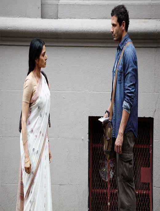 English Vinglish Sridevi Mehdi Nebbou Stills
