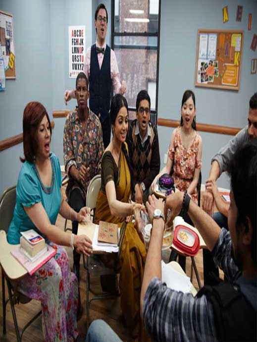 English Vinglish Sridevi Pics Stills