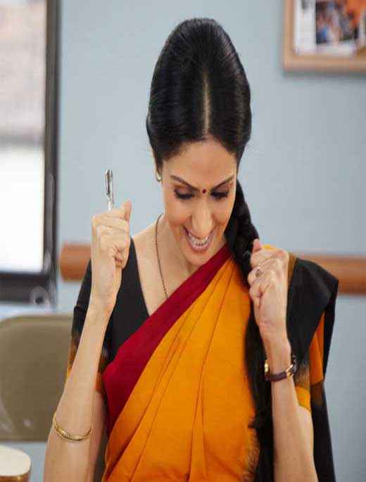 English Vinglish Sridevi Stills