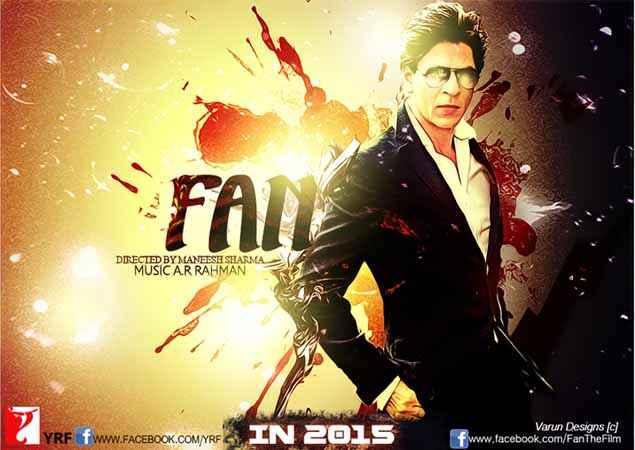 Fan Shahrukh Khan Image Poster