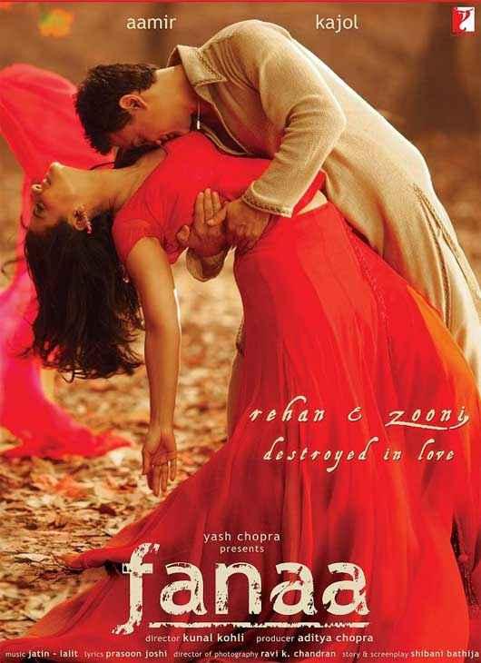 Fanaa Aamir Khan Kajol Poster