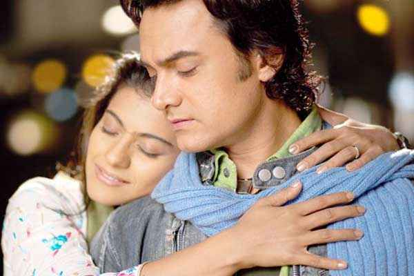 Fanaa Aamir Khan Kajol Romantic Scene Stills