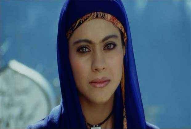 Fanaa Kajol in Blue Dress Stills